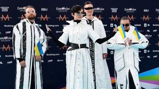 Євробачення-2021: Go_A прийшли на церемонію відкриття в костюмах з переробленого пластику