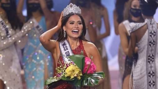 """Андреа Мезі – нова """"Міс Всесвіт-2020"""": що відомо про красуню-мексиканку"""