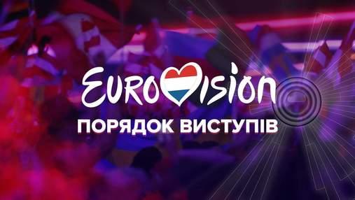 Євробачення-2021: порядок виступів конкурсантів у шоу