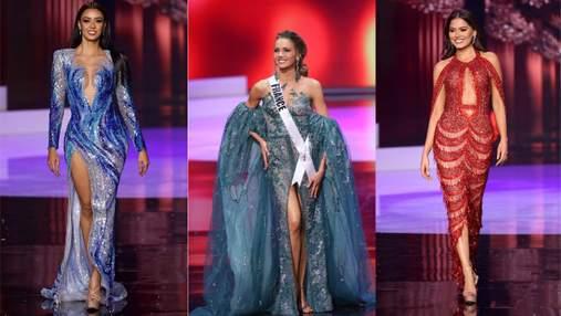 """Откровенные декольте и пикантные разрезы: самые горячие платья """"Мисс Вселенная-2020"""""""