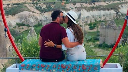 Жена Григория Решетника умилила архивными фото с любимым из Каппадокии
