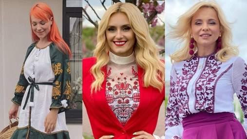 День вишиванки 2021: привітання та фото українських зірок у національному вбранні