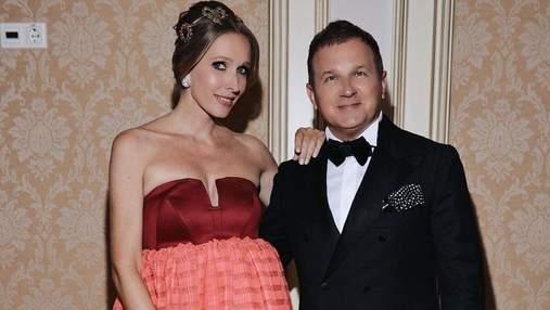 Вагітна Катя Осадча показала миловидне фото з чоловіком: вишуканий образ зірки