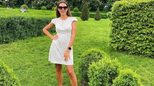 Жена Григория Решетника потрясла образом в белом мини-платье: яркие фото