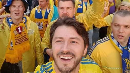 Джамала, Сергій Притула: як зірки підтримували збірну України на Євро-2020