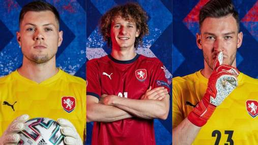 Євро-2020: найкрасивіші футболісти збірної Чехії