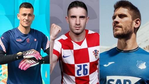 Футболисты сборной Хорватии на Евро-2020: лучшие фото красавцев