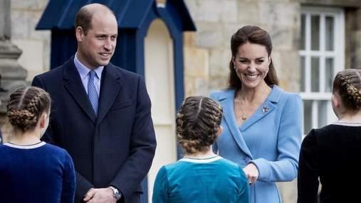 Кейт Миддлтон и принц Уильям взяли сына Джорджа на Евро-2020