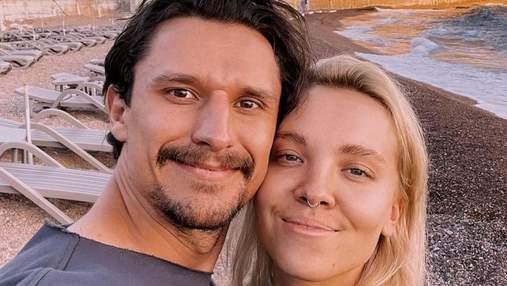Тарас Цимбалюк одружився: перше фото подружжя
