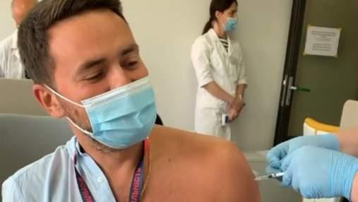 Мой каминг - аут, – Тимур Мирошниченко вакцинировался от коронавируса