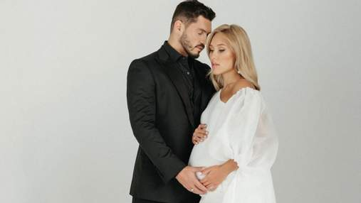 Никита Добрынин чувственно поздравил беременную Дашу Квиткову с днем рождения: фото