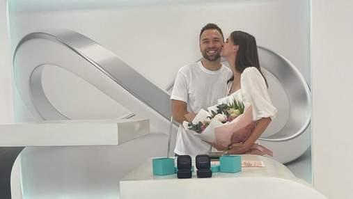 "Сюрприз вдався, – Даша Хлистун спонтанно вийшла заміж за ""Холостяка"" Макса Михайлюка"