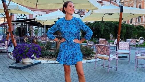 Дружина Григорія Решетника вразила ефектним образом: фото з прогулянки Одесою