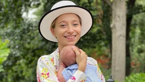 Жена Виктора Павлика очаровала новым фото с маленьким сыном