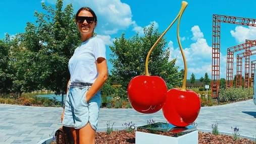 Дружина Григорія Решетника вразила стильним образом у Черкасах: фото
