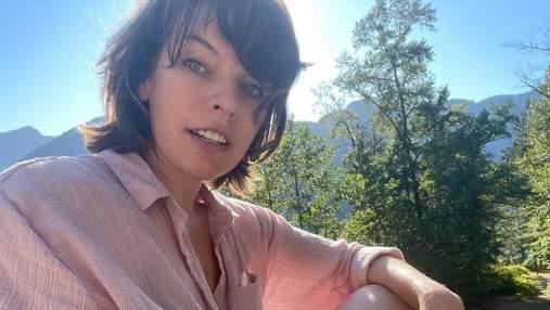 Міла Йовович показала, як відпочиває з сім'єю у Ванкувері: яскраві фото