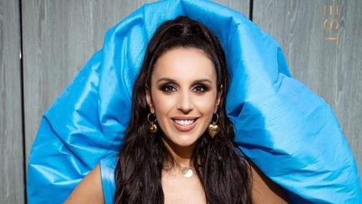Джамала приголомшила яскравим образом у блакитному вбранні: ефектні фото