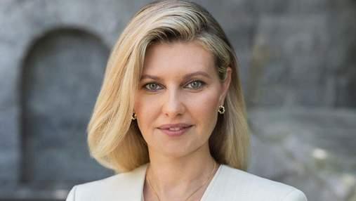 Елена Зеленская опубликовала новое портретное фото: нежный образ первой леди