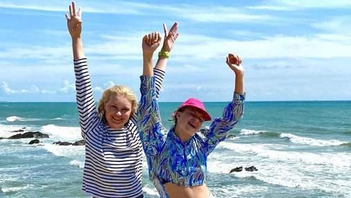 Лідія Таран з донькою у Франції: нове фото телеведучої з відпустки
