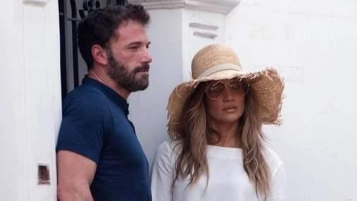 Шок і захоплення: італійці заскочили Дженніфер Лопес та Бена Аффлека на Капрі