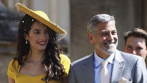 Знову близнюки: дружина Джорджа Клуні Амаль вагітна, – ЗМІ