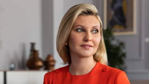 Близкой дружбы быть не может, – Елена Зеленская рассказала об отношениях с первыми леди