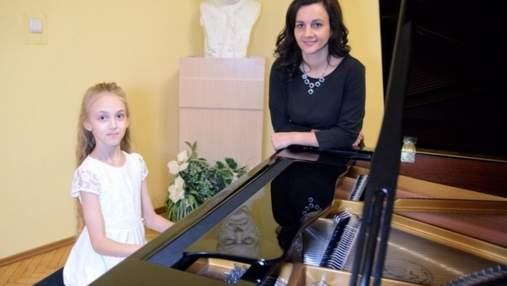 Талантливая 10-летняя пианистка из Львова победила в Международном конкурсе в Италии: видео