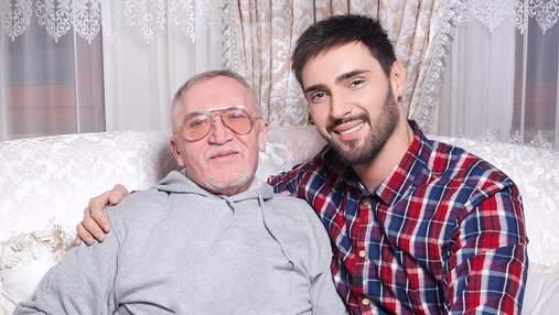У Віталія Козловського помер батько