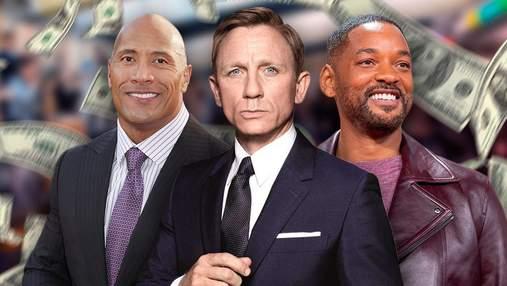 Від Деніла Крейга до Тома Круза: гонорари акторів Голлівуду  у 2021 році