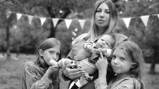 Жена Анатолия Анатолича показала новые фото маленького сына