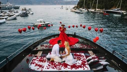 Модель Фріда Аасен заручилась з мільйонером: приголомшливі фото на яхті