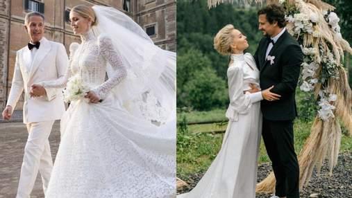 Літні весілля 2021: хто з зірок пішов під вінець