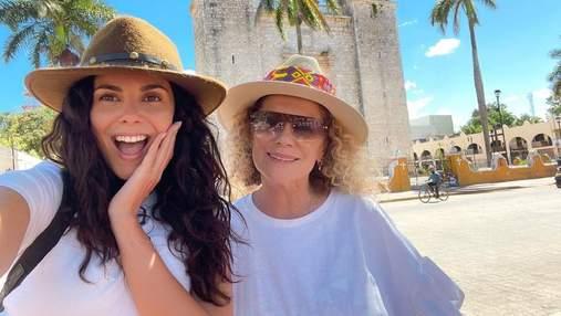 Настя Каменських у дуеті з мамою заспівала на вечірці Горбунова: зворушливі відео