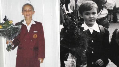 Як українські зірки виглядали у школі: архівні фото