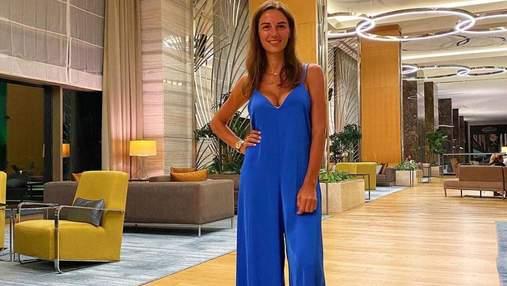 Христина Решетник в синьому комбінезоні: фото з сімейної відпустки