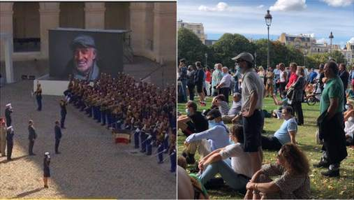 Франция в трауре по таланту: видео прощальной церемонии с Жаном-Полем Бельмондо