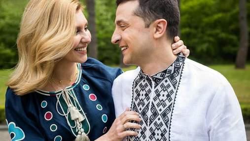 Владимир и Елена Зеленские поцеловались на публичном мероприятии: романтическое видео