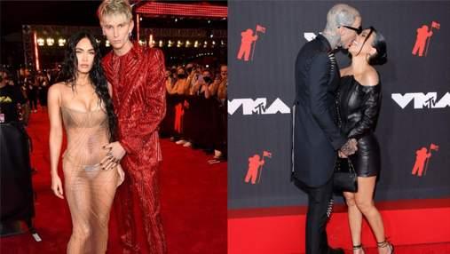 Дерзкие и романтичные: 5 пар, образы которых покорили красную дорожку MTV Video Music Awards