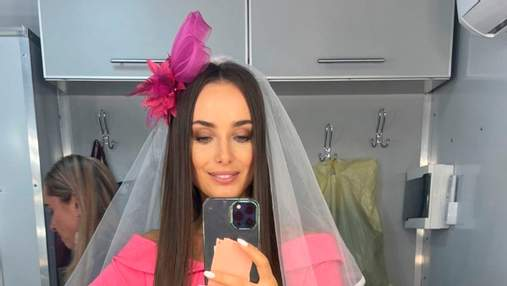 Ксения Мишина озадачила образом невесты: неожиданные фото в фате