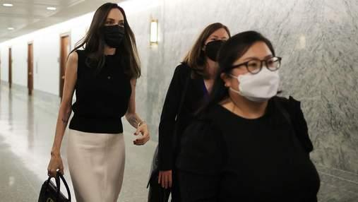 Анджеліна Джолі побувала в Білому домі: фото з Вашингтона