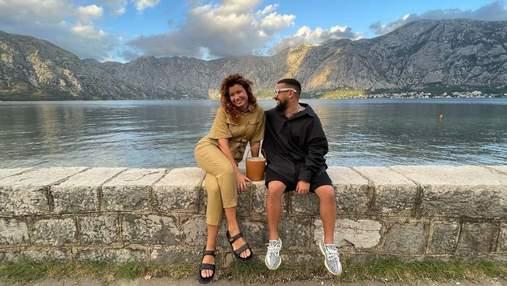Монатик с женой отдыхает в Черногории: живописные фото