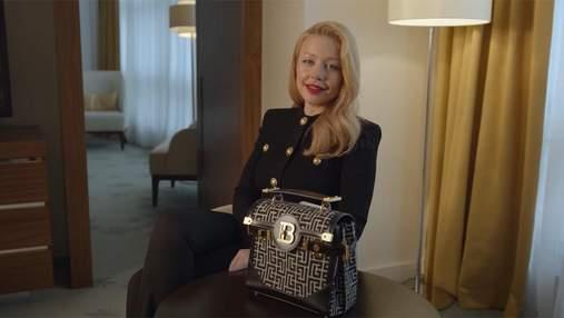 Тина Кароль показала, что носит в своей сумке за 62 тысячи гривен