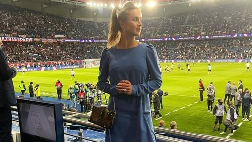 Элина Свитолина в Париже надела платье от украинского дизайнера: фото с мужем