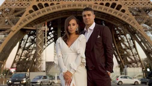 """Экс-герой """"Холостяка"""" Дмитрий Черкасов повез жену в Париж на годовщину свадьбы: фото"""