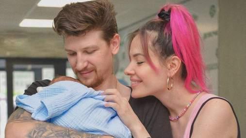 MamaRika і Сергій Середа розсекретили ім'я новонародженого сина