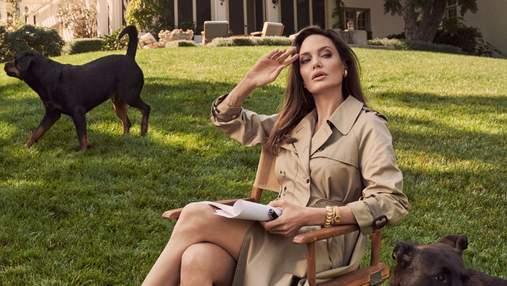 Анджеліна Джолі вкотре підігріла чутки про роман зі співаком The Weeknd