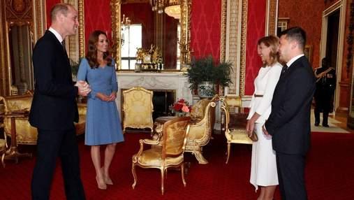 Встреча Зеленских с Кейт Миддлтон и принцем Уильямом: как это было год назад