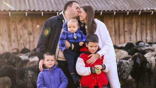 Жена Григория Решетника очаровала новым семейным фото