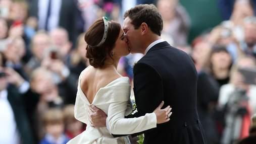 Принцеса Євгенія та Джек Бруксбенк святкують 3 річницю шлюбу: яким було їхнє весілля