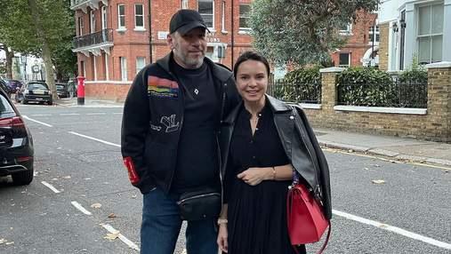 Лілія Подкопаєва з чоловіком полетіла до Лондона: романтичні фото